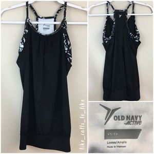 Old Navy Active 2 in 1 Tank - Loose - Size XS